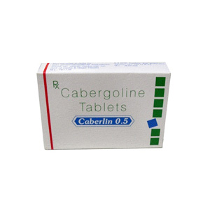 Cabergoline (Cabaser) in USA: low prices for Caberlin 0.5 in USA
